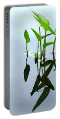 Damselfly In The Mirror Portable Battery Charger
