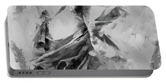 Portable Battery Charger featuring the painting Dance Flamenco 01 by Gull G