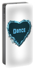 Portable Battery Charger featuring the digital art Dance by Linda Prewer