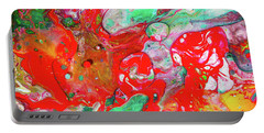 Dance Of Love - Colorful Happy Art Paintings Portable Battery Charger