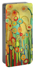 Dance Of The Flower Pods Portable Battery Charger