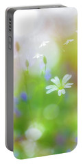 Dance Of The Nature Spirits Portable Battery Charger