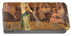 Dance Of The Seven Veils Portable Battery Charger