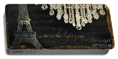 Dance The Night Away 1 Portable Battery Charger by Audrey Jeanne Roberts