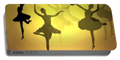 Dance With Us Into The Light Portable Battery Charger by Joyce Dickens