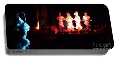 Dancer And Musicians Portable Battery Charger