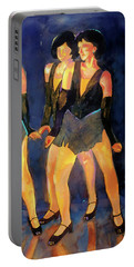 Dancers  Spring Glitz     Portable Battery Charger