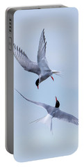 Dancing Arctic Terns Portable Battery Charger