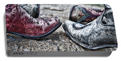 Dancing Boots Portable Battery Charger