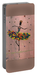 Dancing Girl Portable Battery Charger