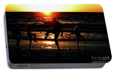 Portable Battery Charger featuring the photograph Dancing In The Sun by Gary Wonning