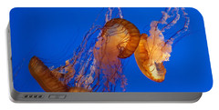 Dancing Sea Nettles Portable Battery Charger