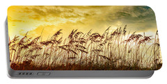 Dancing Sea Oats Portable Battery Charger