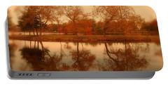 Dancing Trees - Lake Carasaljo Portable Battery Charger