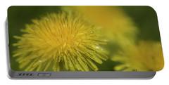 Dandelion After Rain-3835 Portable Battery Charger