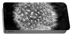 Dandelion Fuzz Portable Battery Charger