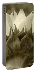 Portable Battery Charger featuring the photograph Dandelion In Sepia by Micah May
