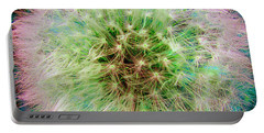 Portable Battery Charger featuring the photograph Dandelion by Jasna Dragun