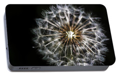Portable Battery Charger featuring the photograph Dandelion Seed by Darcy Michaelchuk