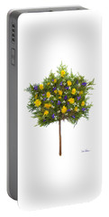 Portable Battery Charger featuring the photograph Dandelion Violet Tree by Lise Winne