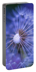 Dandelion Wish Portable Battery Charger by Alana Ranney