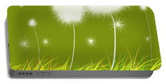 Dandelions Are Free Portable Battery Charger