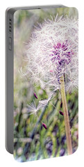 Dandilion Wishes Portable Battery Charger