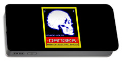 Danger High Voltage Sign Portable Battery Charger