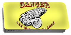 Danger Sax Operating Area Portable Battery Charger