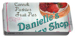 Danielle's Pastry Shop Portable Battery Charger
