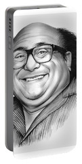 Danny Devito Portable Battery Charger by Greg Joens