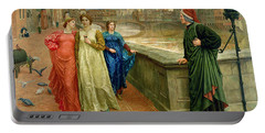 Dante And Beatrice Portable Battery Charger