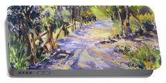 Dappled Morning Walk Portable Battery Charger