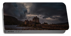 Dark Clouds #h2 Portable Battery Charger