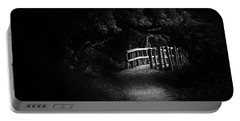 Dark Footbridge Portable Battery Charger
