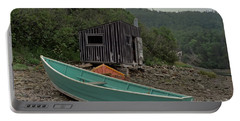 Dark Harbour Fisherman Shack And Boat Portable Battery Charger