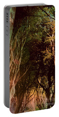 Portable Battery Charger featuring the photograph Dark Hedges by Mary-Lee Sanders