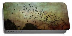Portable Battery Charger featuring the photograph Dark Kentucky Skies by Jan Amiss Photography