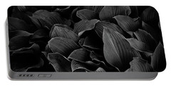 Dark Leaves Portable Battery Charger by Tim Good