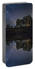 Portable Battery Charger featuring the photograph Dark Mirror by Aaron J Groen