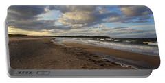 Dark Skies And Sea - Nova Scotia Seascape Portable Battery Charger