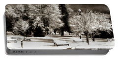 Dark Skies And Winter Park Portable Battery Charger