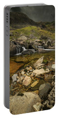 Dark Skies Over Llanberis Pass Portable Battery Charger
