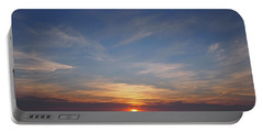 Portable Battery Charger featuring the photograph Dark Sunrise by  Newwwman