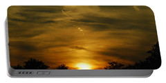 Dark Sunset Portable Battery Charger