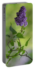 Dark Violet Lilac Portable Battery Charger