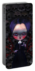 Darkness Halloween Portable Battery Charger