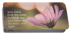Darkness Into Light Portable Battery Charger