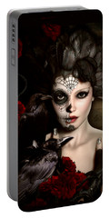 Darkside Sugar Doll Portable Battery Charger by Shanina Conway