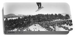 Dartmouth Carnival Ski Jumper Portable Battery Charger